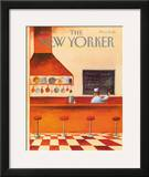 The New Yorker Cover - January 10, 1983 Framed Giclee Print by Abel Quezada
