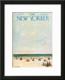 The New Yorker Cover - July 29, 1961 Framed Giclee Print by Abe Birnbaum