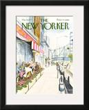 The New Yorker Cover - May 16, 1977 Framed Giclee Print by Charles Saxon