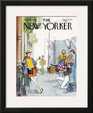 The New Yorker Cover - April 21, 1980 Framed Giclee Print by Charles Saxon