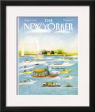The New Yorker Cover - August 8, 1988 Framed Giclee Print by Susan Davis