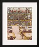 The New Yorker Cover - January 9, 1984 Framed Giclee Print by Roxie Munro