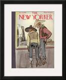 The New Yorker Cover - October 19, 1935 Framed Giclee Print by William Galbraith Crawford