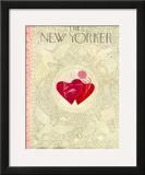 The New Yorker Cover - February 16, 1952 Framed Giclee Print by Ilonka Karasz