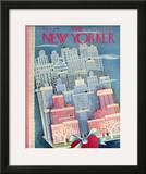 The New Yorker Cover - February 15, 1947 Framed Giclee Print by Ilonka Karasz