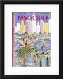 The New Yorker Cover - April 21, 1928 Framed Giclee Print by Ilonka Karasz