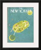The New Yorker Cover - March 27, 1948 Framed Giclee Print by Ilonka Karasz