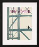 The New Yorker Cover - April 11, 1983 Framed Giclee Print by Abel Quezada