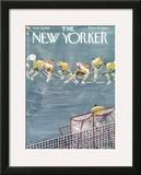 The New Yorker Cover - November 21, 1959 Framed Giclee Print by Anatol Kovarsky