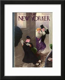 The New Yorker Cover - March 2, 1940 Framed Giclee Print by William Cotton