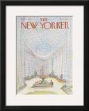 The New Yorker Cover - March 5, 1979 Framed Giclee Print by Paul Degen