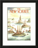 The New Yorker Cover - May 8, 1978 Framed Giclee Print by Paul Degen