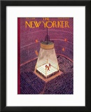 The New Yorker Cover - March 8, 1930 Framed Giclee Print by Ilonka Karasz