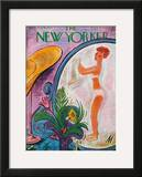 The New Yorker Cover - August 19, 1939 Framed Giclee Print by Julian de Miskey