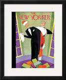 The New Yorker Cover - December 24, 1927 Framed Giclee Print by Andre De Schaub