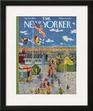 The New Yorker Cover - April 18, 1959 Framed Giclee Print by Ilonka Karasz
