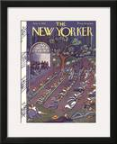 The New Yorker Cover - August 6, 1927 Framed Giclee Print by Ilonka Karasz