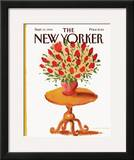 The New Yorker Cover - September 10, 1984 Framed Giclee Print by Abel Quezada