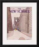 The New Yorker Cover - November 14, 1983 Framed Giclee Print by Roxie Munro