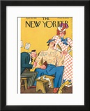The New Yorker Cover - April 28, 1928 Framed Giclee Print by Julian de Miskey