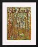 The New Yorker Cover - April 10, 1965 Framed Giclee Print by Ilonka Karasz