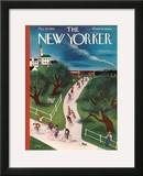 The New Yorker Cover - May 28, 1938 Framed Giclee Print by Victor Bobritsky
