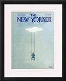 The New Yorker Cover - June 30, 1980 Framed Giclee Print by Robert Tallon
