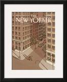 The New Yorker Cover - October 6, 1986 Framed Giclee Print by Roxie Munro