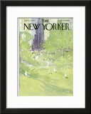 The New Yorker Cover - April 24, 1971 Framed Giclee Print by Arthur Getz