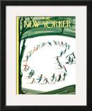 The New Yorker Cover - March 5, 1960 Framed Giclee Print by Mario Micossi