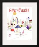 The New Yorker Cover - September 14, 1981 Framed Giclee Print by Paul Degen