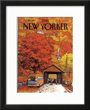 The New Yorker Cover - October 19, 1981 Framed Giclee Print by Arthur Getz