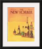 The New Yorker Cover - November 17, 1986 Framed Giclee Print by Abel Quezada