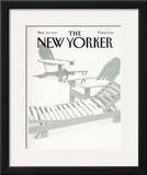 The New Yorker Cover - March 24, 1986 Framed Giclee Print by Gretchen Dow Simpson