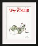 The New Yorker Cover - December 14, 1981 Framed Giclee Print by Arnie Levin
