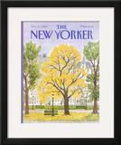 The New Yorker Cover - October 14, 1985 Framed Giclee Print by Barbara Westman