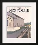 The New Yorker Cover - September 17, 1984 Framed Giclee Print by Gretchen Dow Simpson