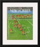 The New Yorker Cover - November 6, 1989 Framed Giclee Print by John O'brien