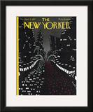 The New Yorker Cover - April 2, 1927 Framed Giclee Print by Toyo San
