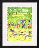 The New Yorker Cover - September 2, 1991 Framed Giclee Print by Devera Ehrenberg