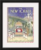 The New Yorker Cover - February 15, 1958 Framed Giclee Print by Anatol Kovarsky