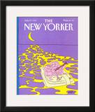 The New Yorker Cover - July 27, 1987 Framed Giclee Print by Arnie Levin