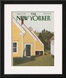 The New Yorker Cover - June 19, 1989 Framed Giclee Print by Gretchen Dow Simpson