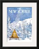 The New Yorker Cover - February 6, 1978 Framed Giclee Print by Arthur Getz