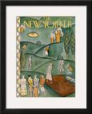 The New Yorker Cover - June 9, 1928 Framed Giclee Print by Ilonka Karasz