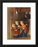 The New Yorker Cover - December 22, 1951 Framed Giclee Print by William Cotton