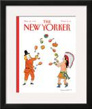 The New Yorker Cover - November 26, 1990 Framed Giclee Print by Danny Shanahan