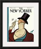 The New Yorker Cover - February 22, 1988 Framed Giclee Print by Rea Irvin
