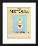 The New Yorker Cover - September 28, 1987 Framed Giclee Print by Paul Degen
