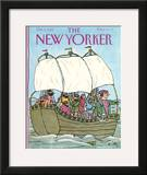 The New Yorker Cover - October 9, 1989 Framed Giclee Print by William Steig